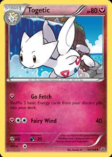 Togetic Roaring Skies Pokemon Card