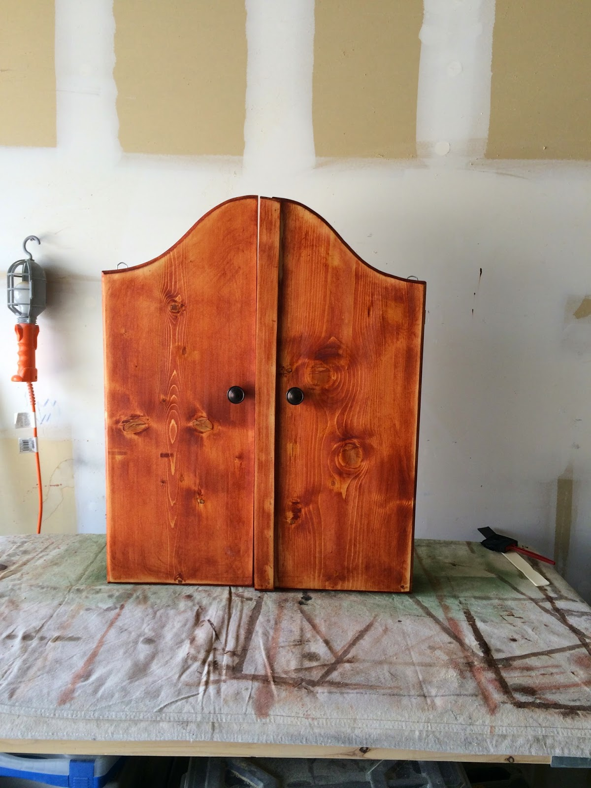 Timbo's Creations: Dartboard Cabinet Stand