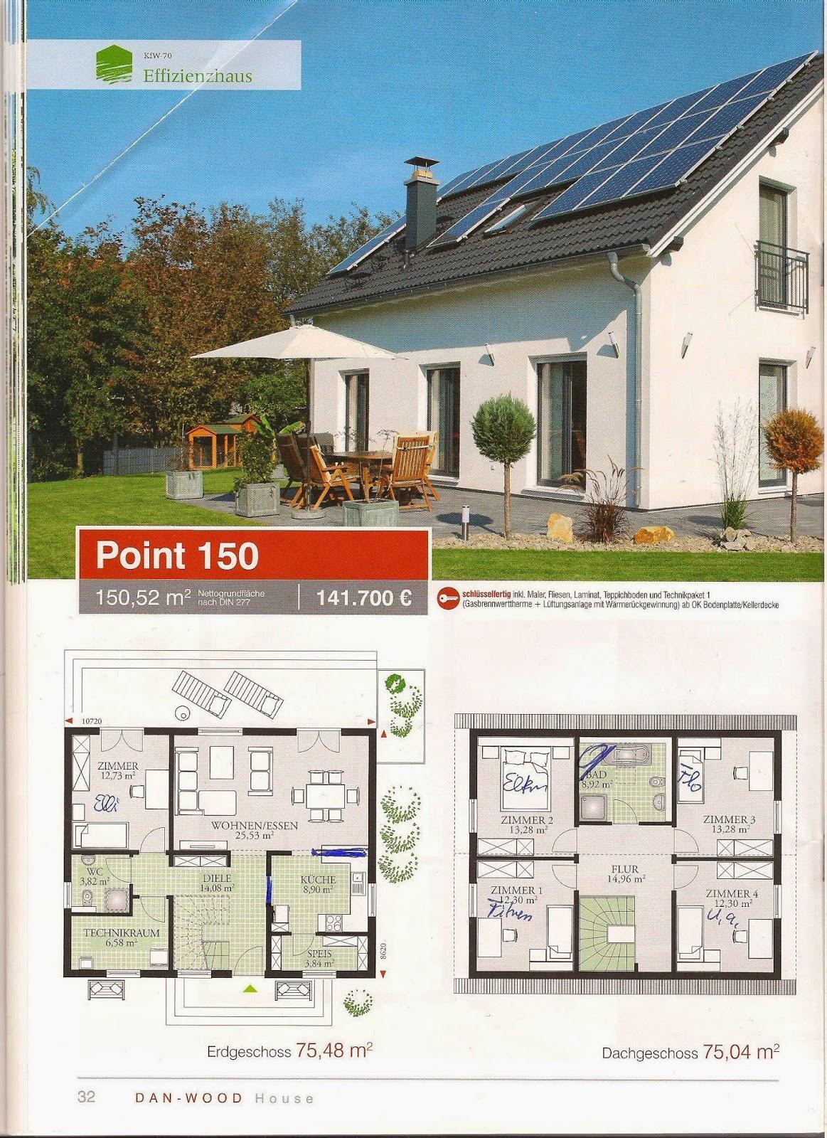 flo baut sein traumhaus point 150 von danwood mit ks. Black Bedroom Furniture Sets. Home Design Ideas