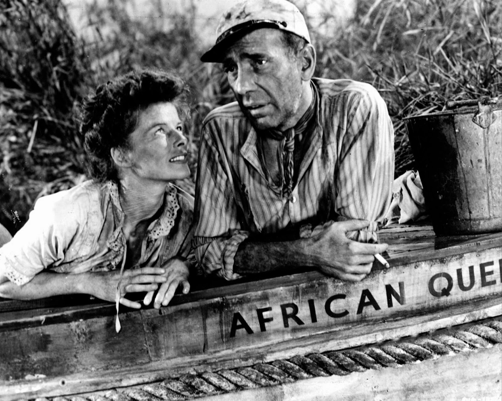 the african queen The african queen – yes, the african queen, the one on which bogie drank his   and weather-battered glory she was in in 1951, when the movie was made.
