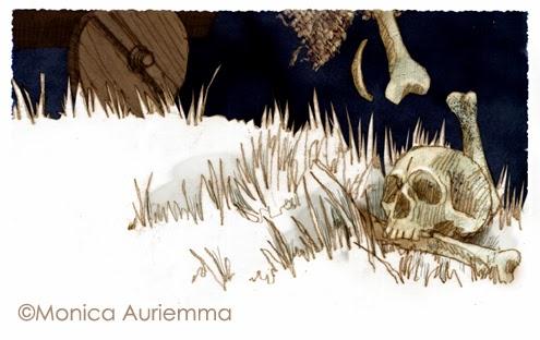 "Illustrazione. Manfredi. Monica Auriemma.""Leggo perchè..."" Mondadori Education"
