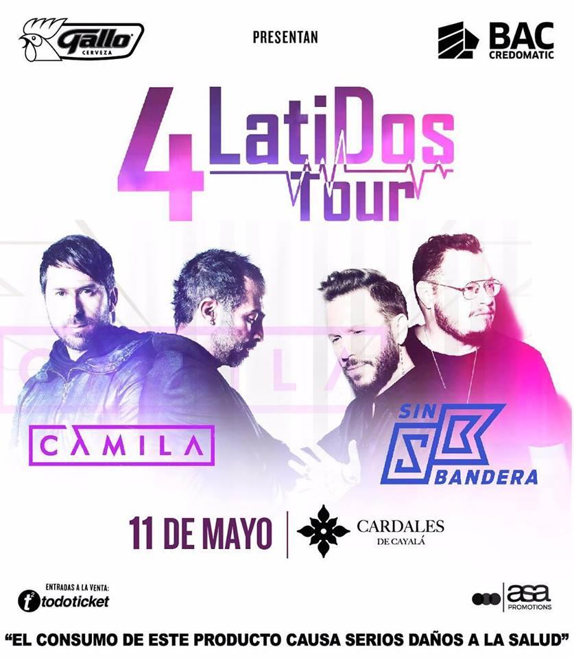 4 LATIDOS TOUR EN GUATEMALA!