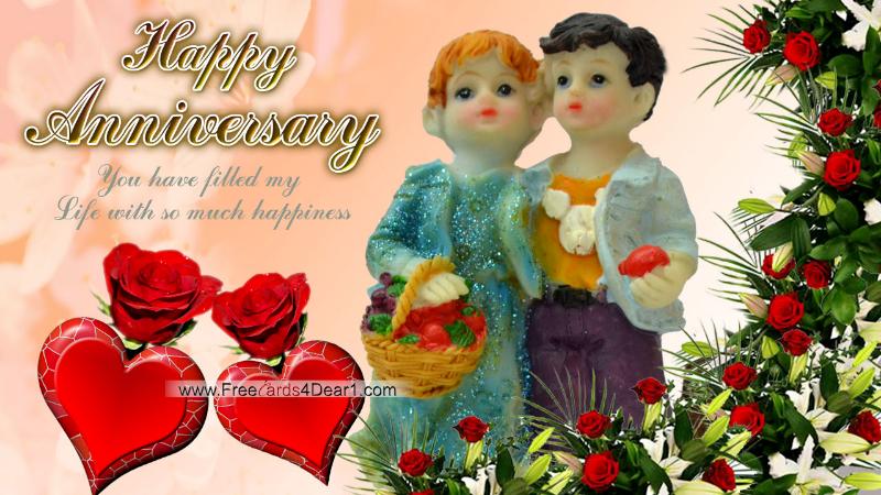 Wallpapers sols happy anniversary greeting card hd