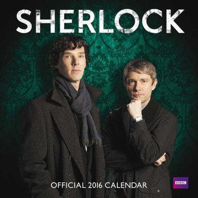 Calendario Serie Sherlock Holmes 2016
