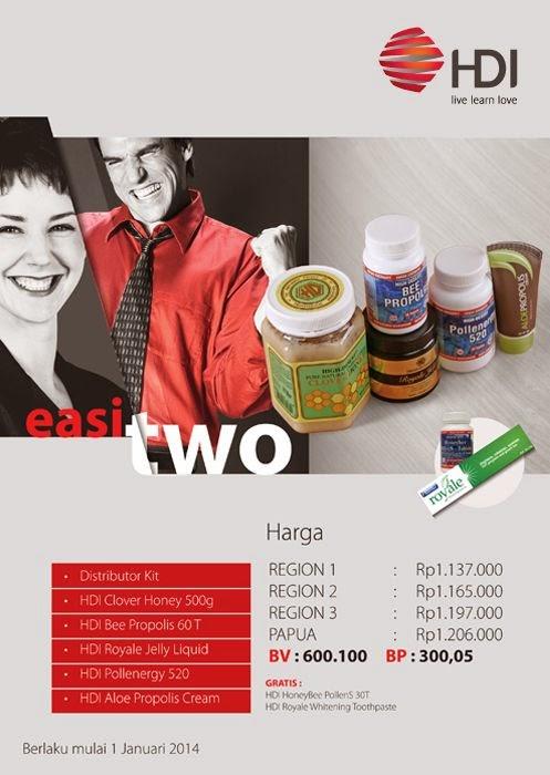 promo paket easi 2 hdi-free membership!