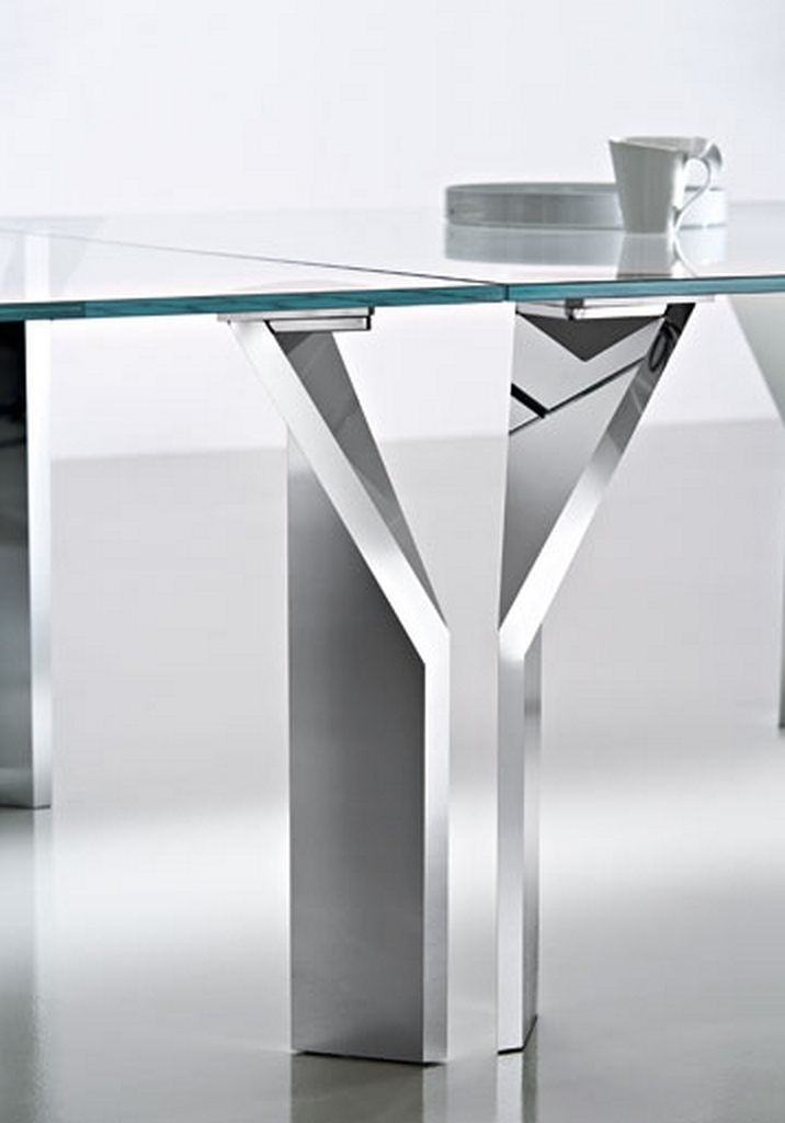 Stainless steel table legs for Steel table design