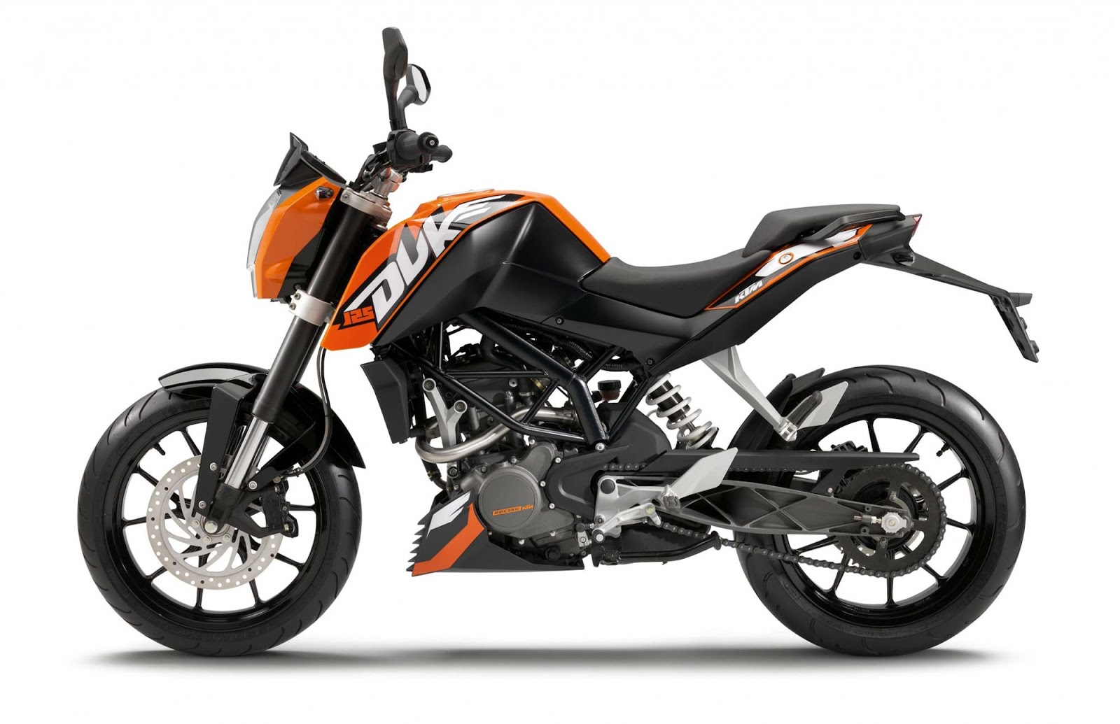 Motorcycle Diagram  Ktm 125 Duke Specs