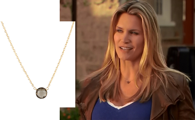 Natasha Henstridge necklace by Peggy Li