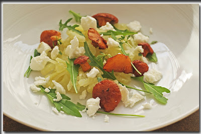 Fenchelsalat für den Gärtnerblog