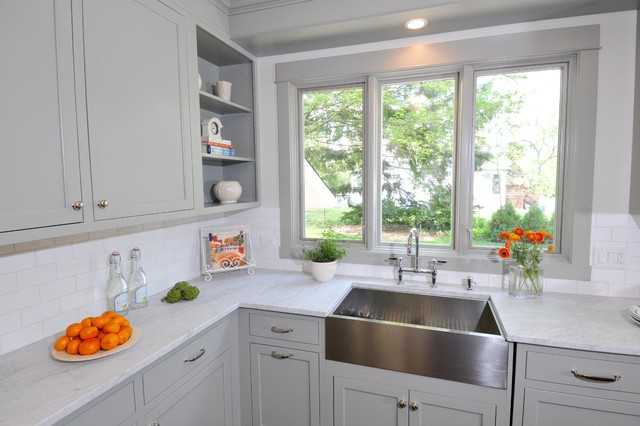 Kitchens Painted Gray Owl