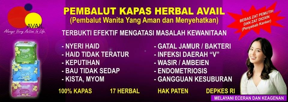Avail Bali-Pembalut Avail FC-Bio Sanitary Pad