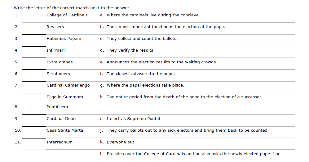The Catholic Toolbox WorksheetPuzzleQuiz Makers – Corporal Works of Mercy Worksheet