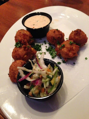 Crawfish Hushpuppies at Stinky's Fish Camp