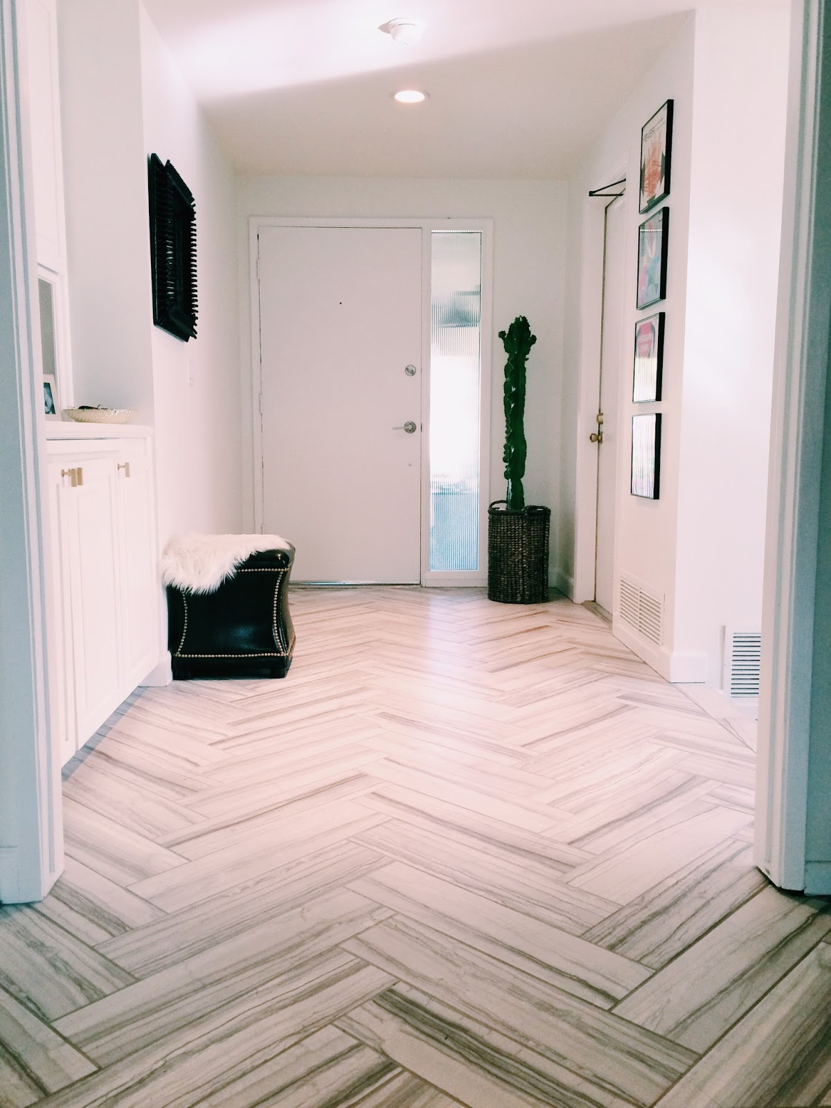 New entryway tile holtwood hipster for Entrance flooring ideas