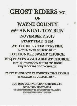 GRMC Wayne Toy Run