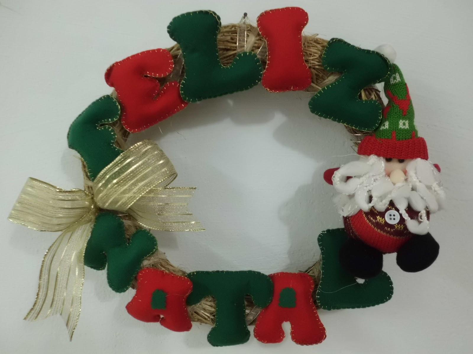 Enfeite De Feltro ~ Olá , seja bem vindo !!!! Feltro Enfeite de Natal