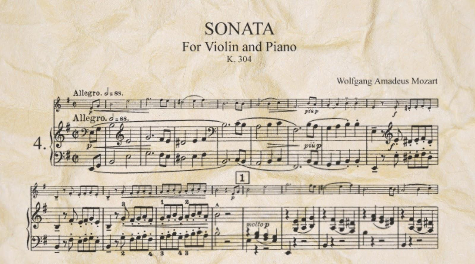 Tono menor m sica cl sica forma sonata - Epoca del clasicismo ...