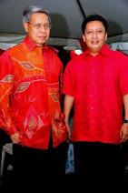 Dato' Mustapa Mohamed dan Datuk Ahmad Jazlan