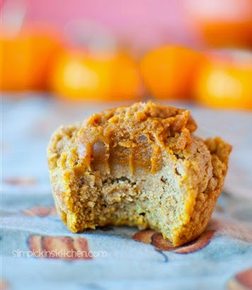 http://chocolatecoveredkatie.com/2012/11/18/pumpkin-pie-pumpkin-muffins/