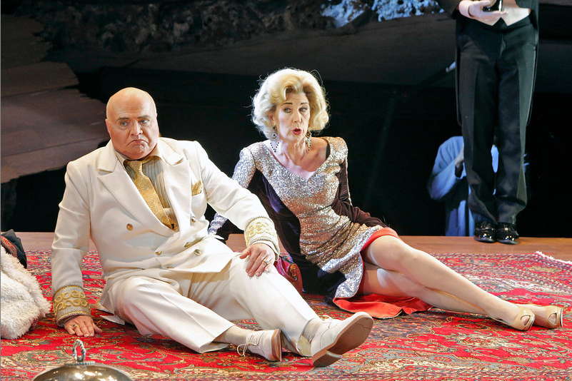 Rosalind Plowright and Alan Woodrow, Salome, Portland Opera 2013