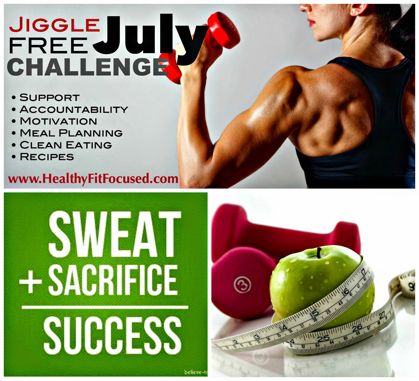 PiYo Week 1 Update - Women's Progress and PiYo Meal Plan, Plan A. www.HealthyFitFocused.com, Jiggle Free July Challenge