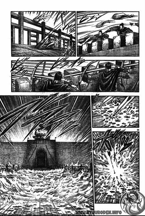 Chú Bé Rồng - Ryuuroden chap 194 - Trang 36