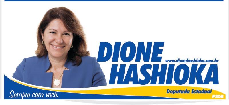 Dione Hashioka - Deputada Estadual