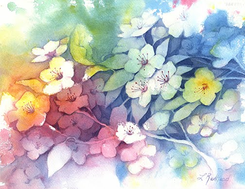 Negative Painting, Positive Thinking in Watercolour Workshop