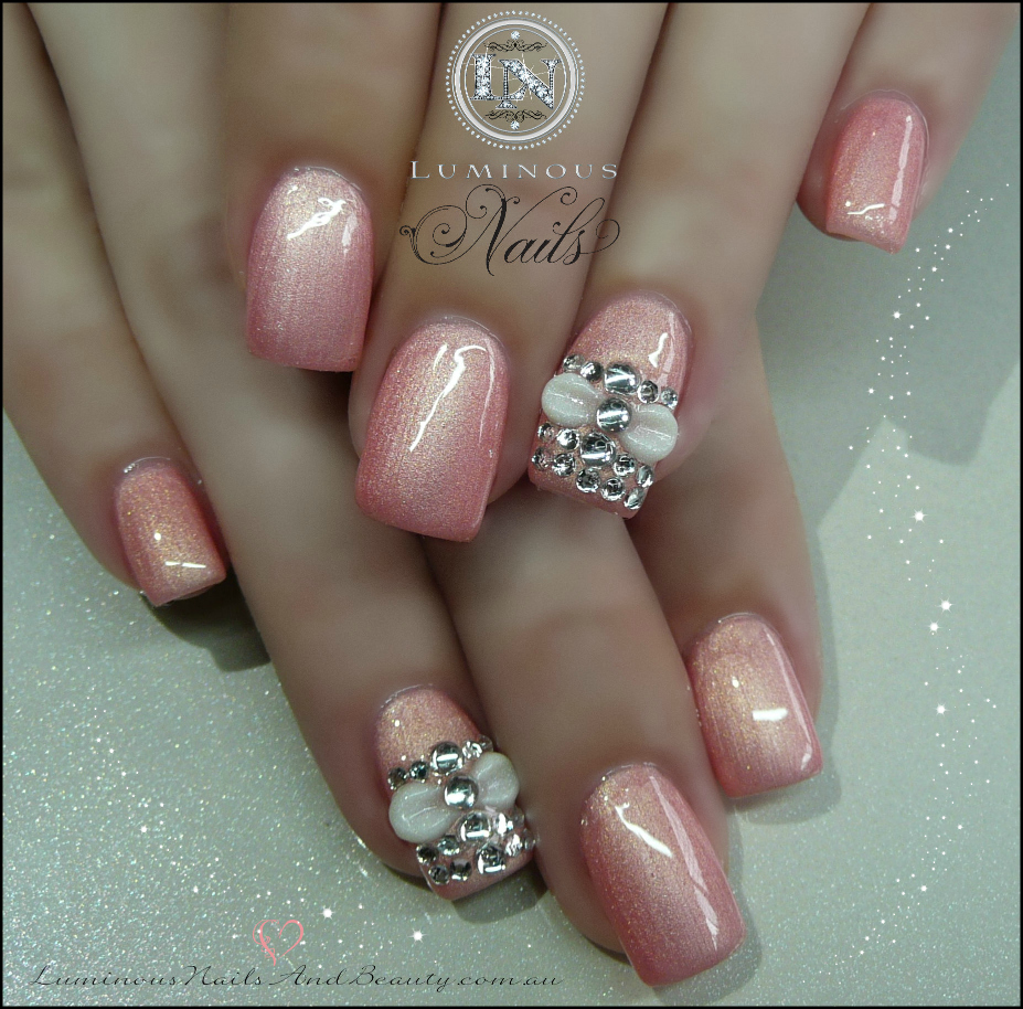 Acrylic pearl nails joy studio design gallery best design for Acrylic nails salon brisbane