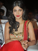 Shruti Haasan photos at Pooja audio launch-cover-photo