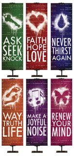 Youth Ministry Banners