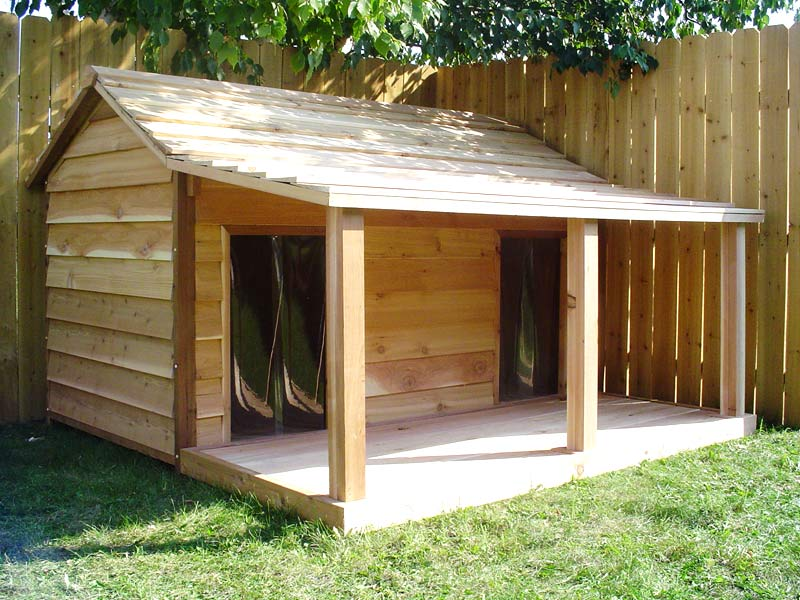 Duplex Dog House Design photo