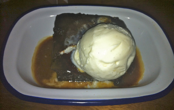 Gorilla Manchester - Sticky Toffee Pudding