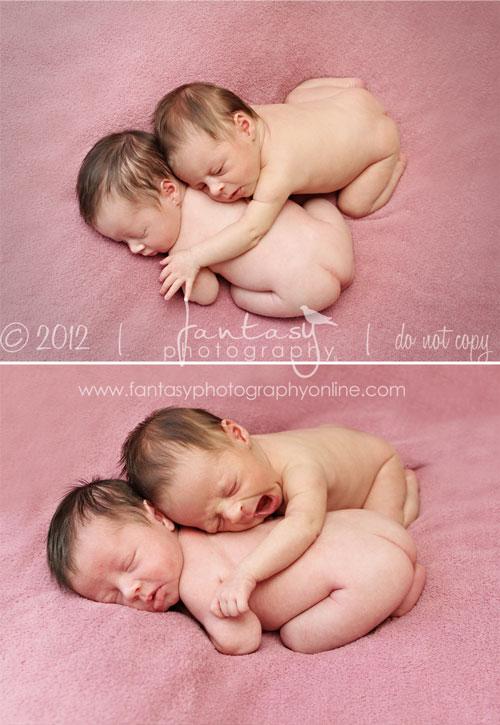 Twin Triplet Multiple Newborn Photographer in Winston Salem Triad NC