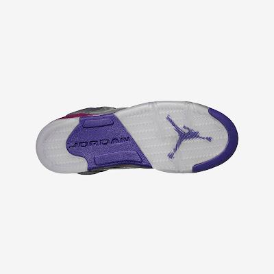 Air Jordan 5 Retro (3.5y-7y) Girls' Shoe # 440892-009