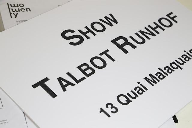 TALBOT RUNHOF DÉFILÉ / 01.10.2015 / 19.00 PM / SPRING/SUMMER 2016