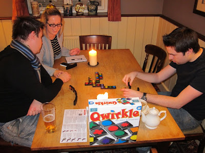 Qwirkle - By candlelight!