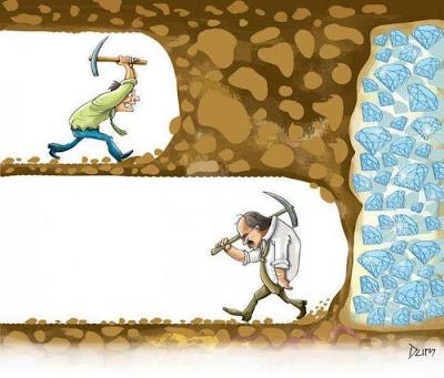 Đừng bao giờ từ bỏ ước mơ mục đich của bản thân