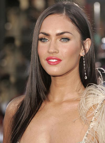 megan fox hair extensions. megan fox hair extensions.