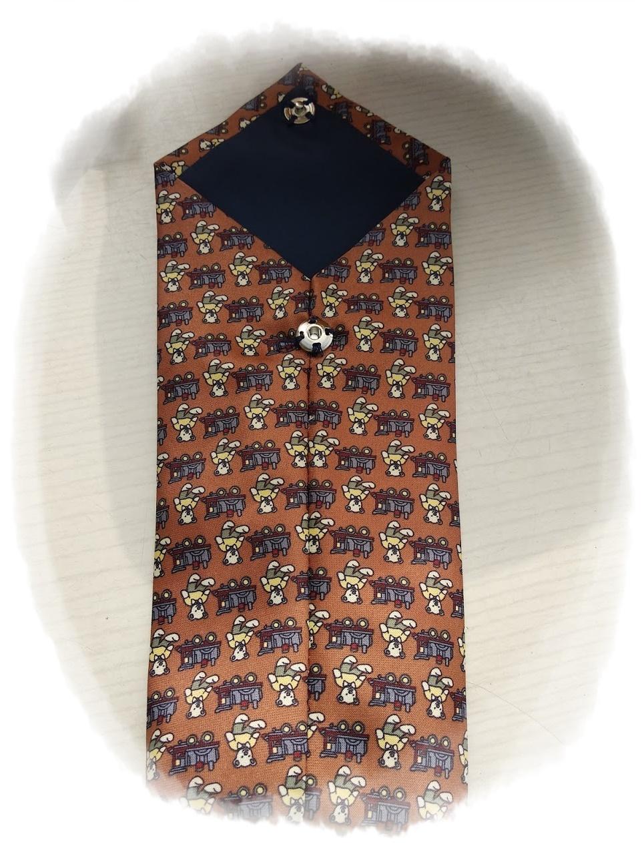 Reto Octubre: Funda de gafas con corbata