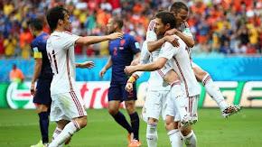Espanha 1x5 Holanda - 2014