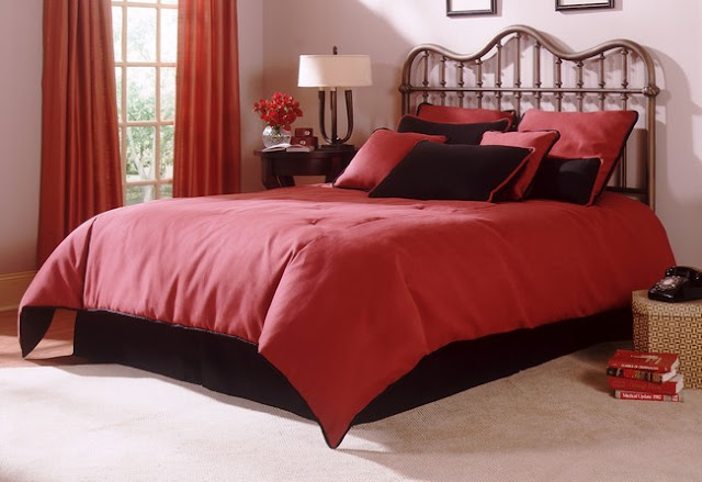color your world inspiring red white and black bedroom