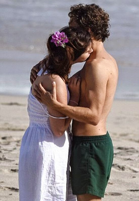 Is it summer yet? Or Lana Del Rey looked ready to bring the amorous point into great temperature.  During her fun filled with lucky boyfriend, Francesco Carrozini at Saint Barthelemy on Wednesday, December 31, 2014, it's certainly a toast whirlwind of never ending.