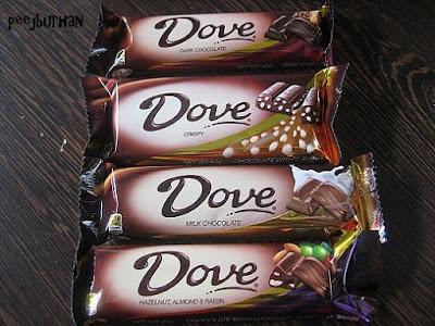 cokelat batangan dove