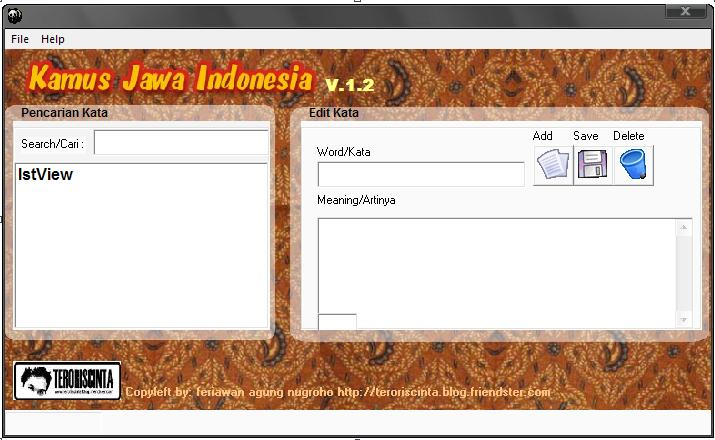 download 4shared 1 kamus bahasa jawa indonesia 2 kamus bahasa jawa