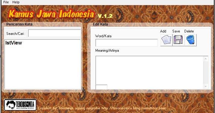 Kamus jawa ngoko krama online dating 5