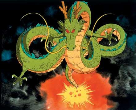 Collecting Seven Dragon Ball Summons Shenlong