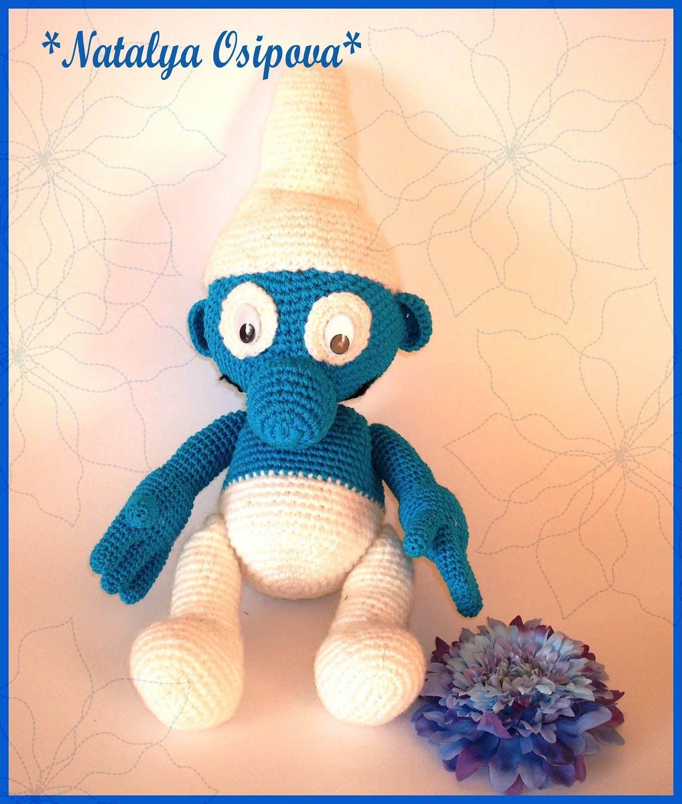 Вязание на осинке игрушки