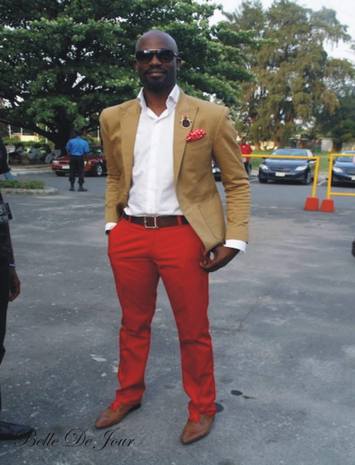 RED PANTS : STAGE N' STREET | naijaweekly
