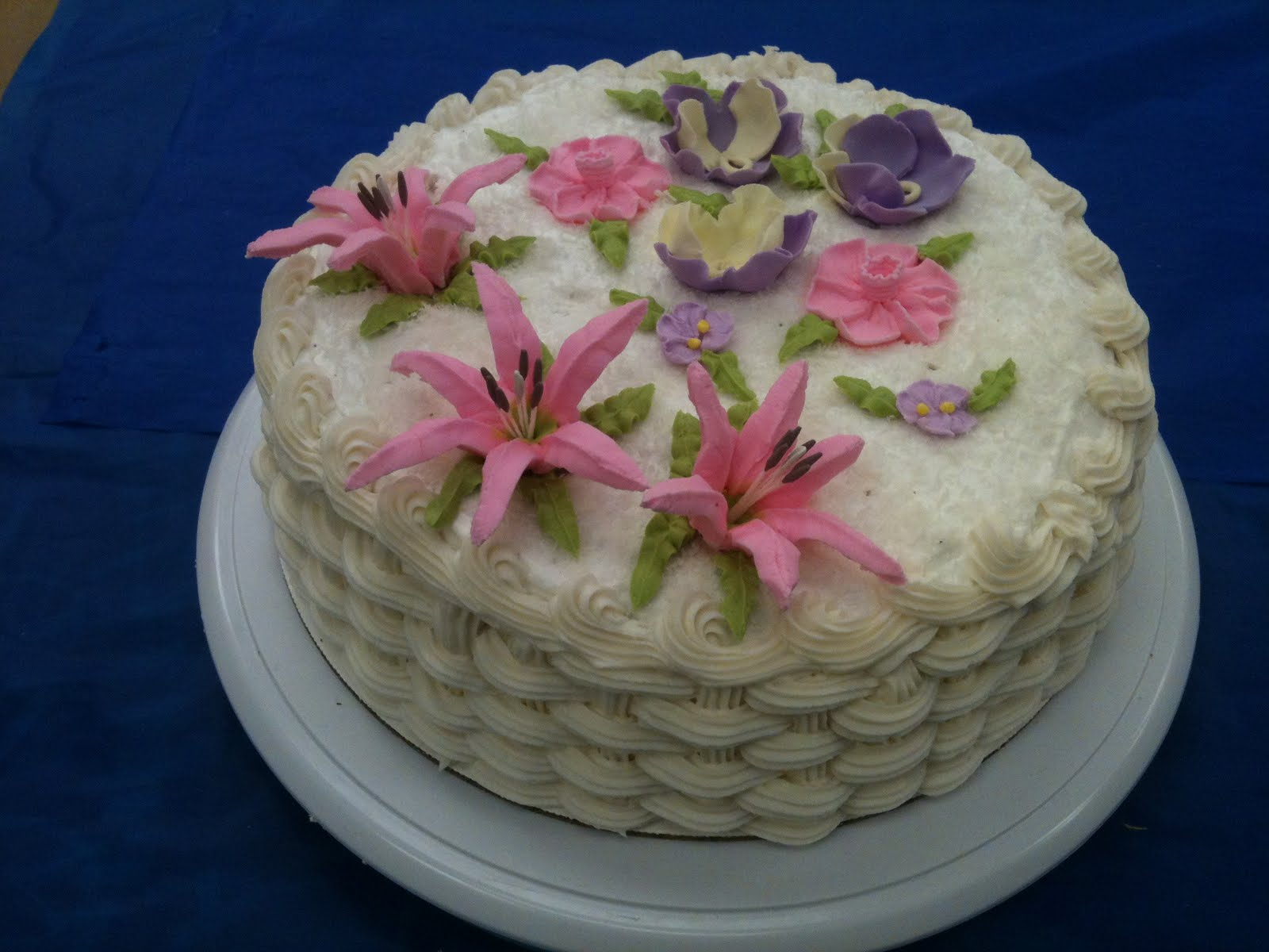 Cake Decorating by Sonia: November 2011 - Course 2 ...